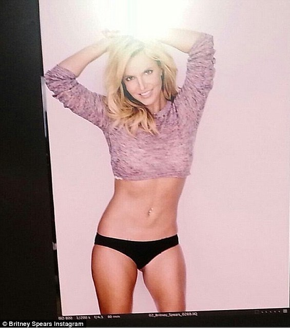 Britney spears unretouched